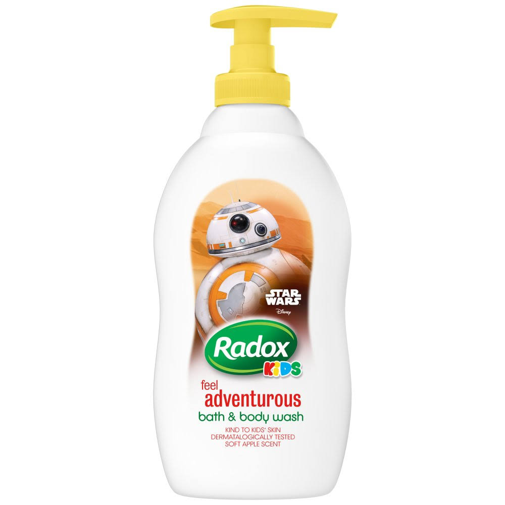 Radox Kids Star Wars Bath and Body Wash - 400ml, Soft Apple Scent