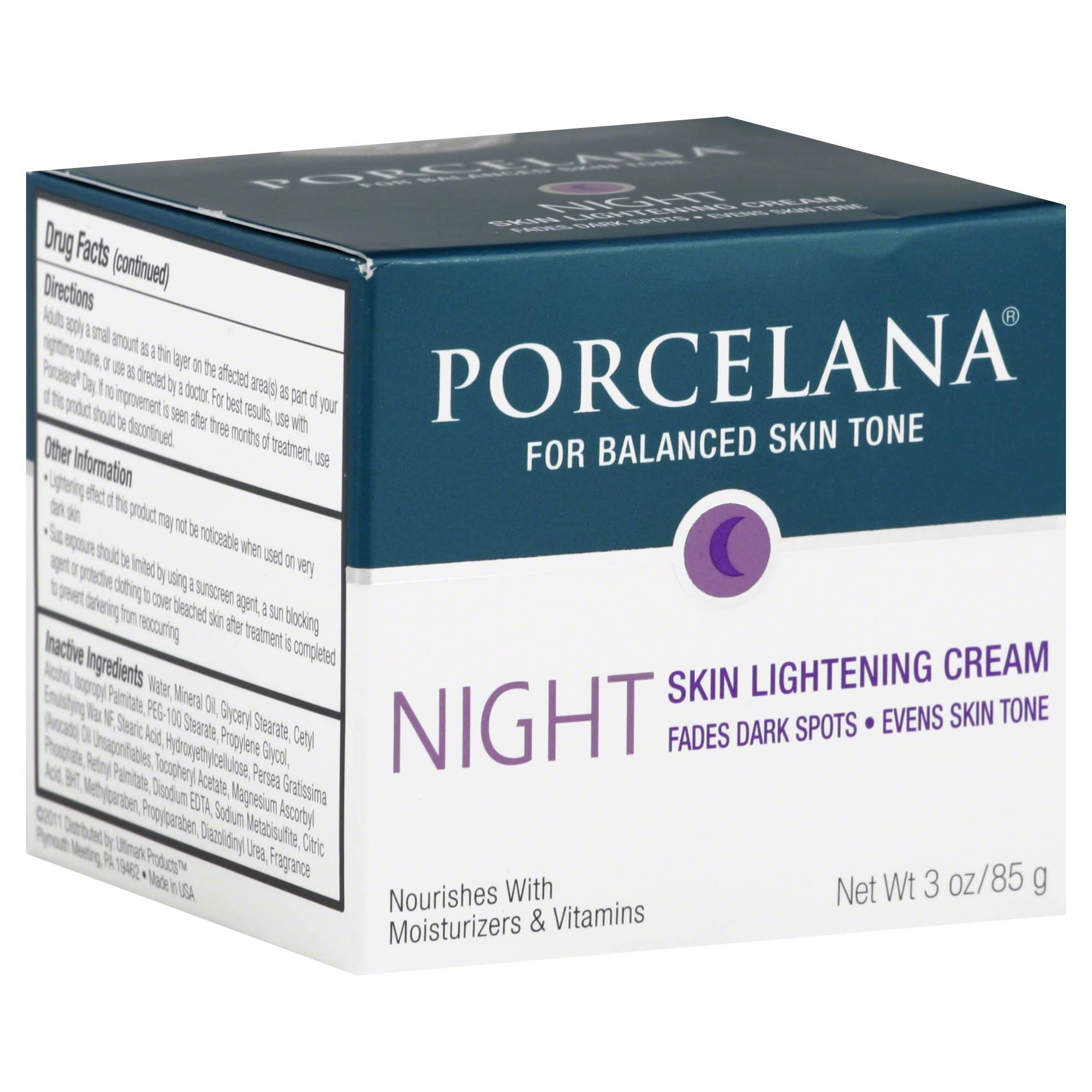 Porcelana Dark Spots Nighttime Skin Lightening Cream - 3oz, Night