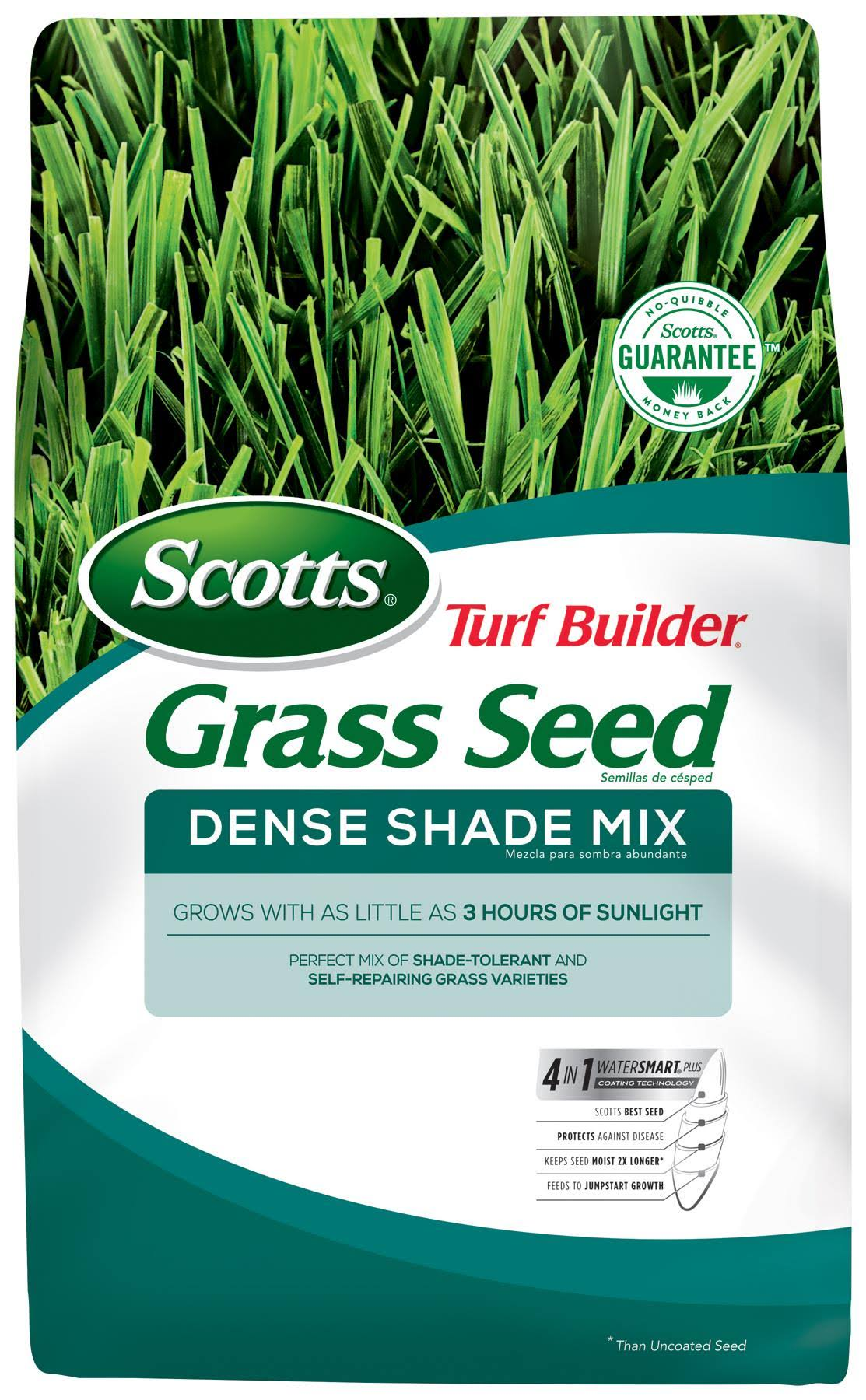 Scotts Turf Builder Grass Seed - Dense Shade Mix, 7lbs