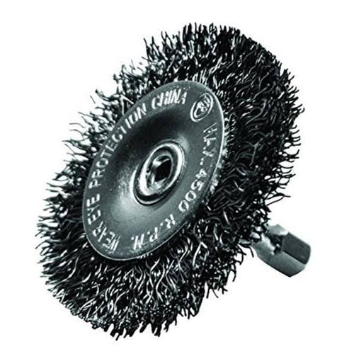 Century Drill & Tool Coarse Drill Radial Wire Brush - 2-1/2in