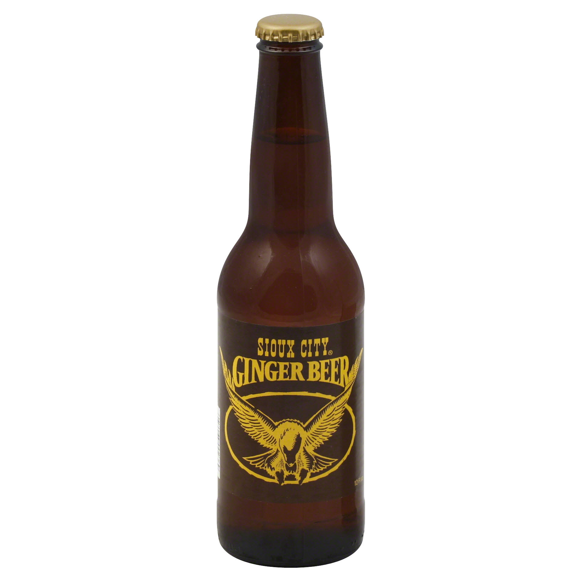 Sioux City Ginger Beer - 12oz