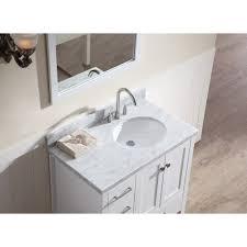 Ebay Bathroom Vanity With Sink by Sink Vanity Set In White With Right Offset Sink Vanity Top