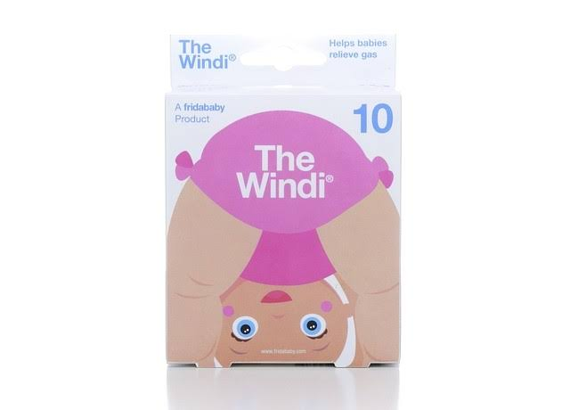 Fridababy Windi The Gaspasser - 10 Pack