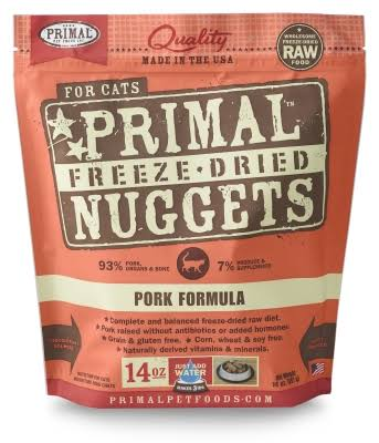 Primal Cat Pork 14oz Freeze Dried