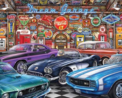 Springbok Dream Garage - 1000 Piece Jigsaw Puzzle