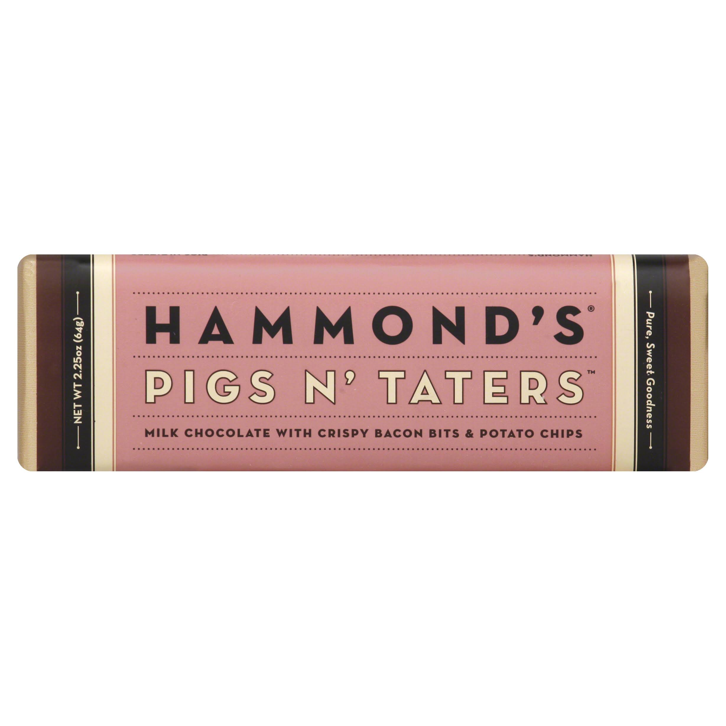Hammonds Pigs N' Taters - Milk Chocolate, 2.25oz