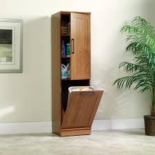 Tall Narrow Linen Cabinet With Doors by Sauder Homeplus Storage Cabinet With Tilt Out Door Hayneedle