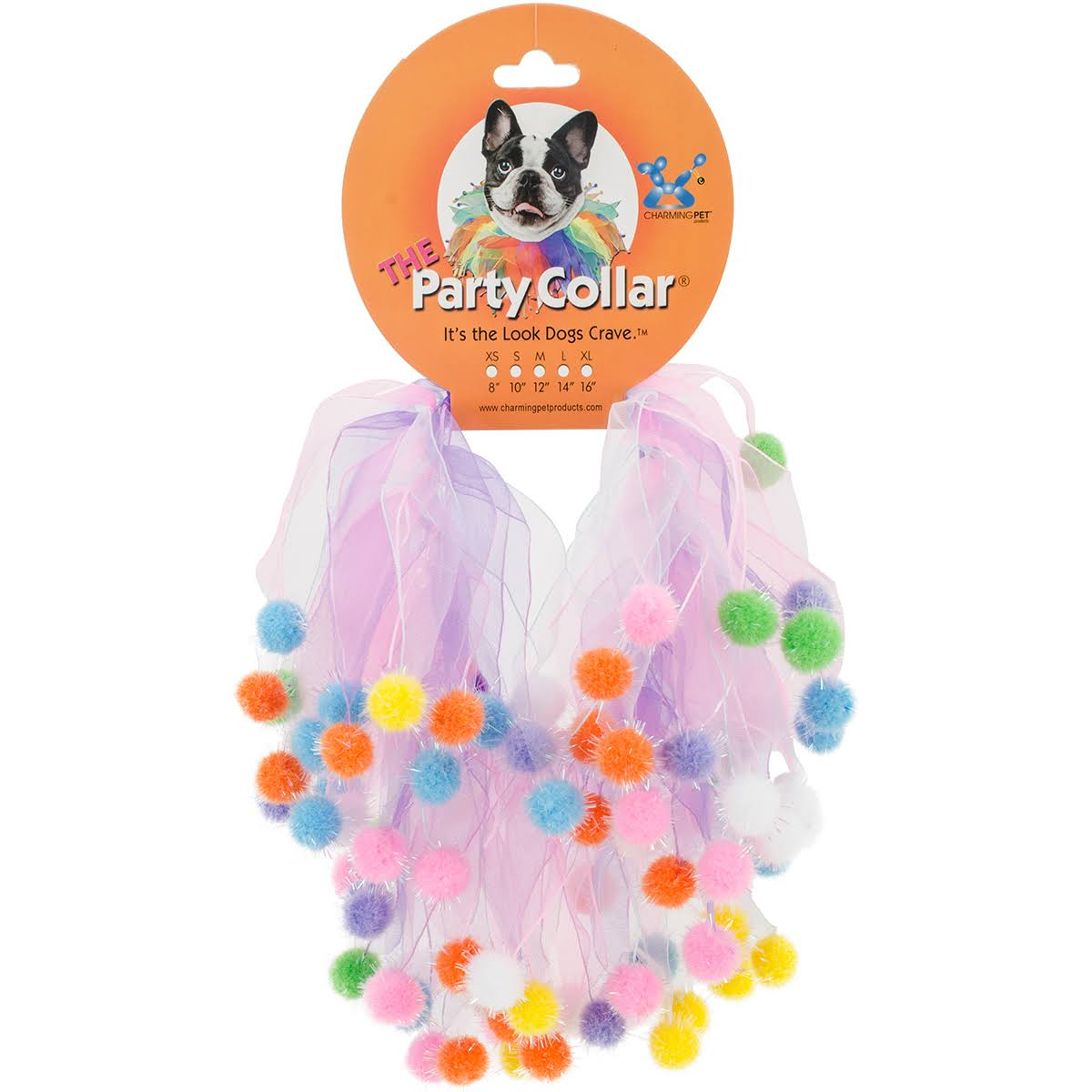 Charming Pet Birthday Party Collar Large
