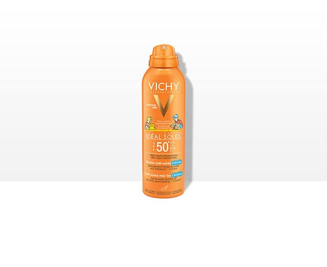 Vichy Ideal Soleil Kid's Anti-Sand Spray - SPF 50, 200ml