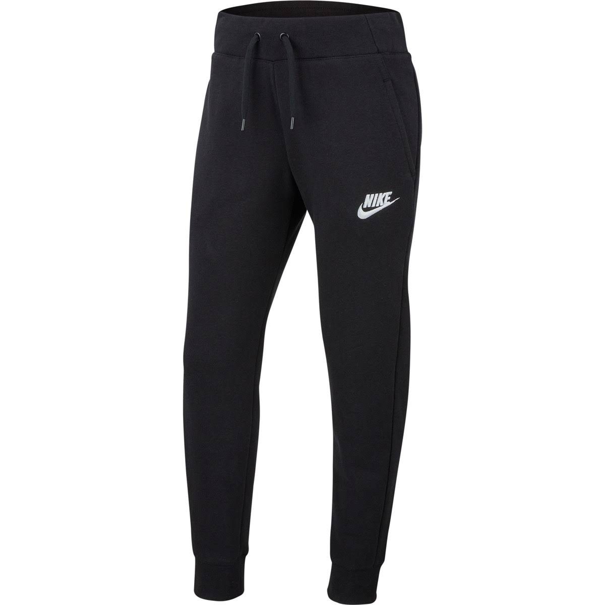 Nike Girls Sports Pants - Black, Large