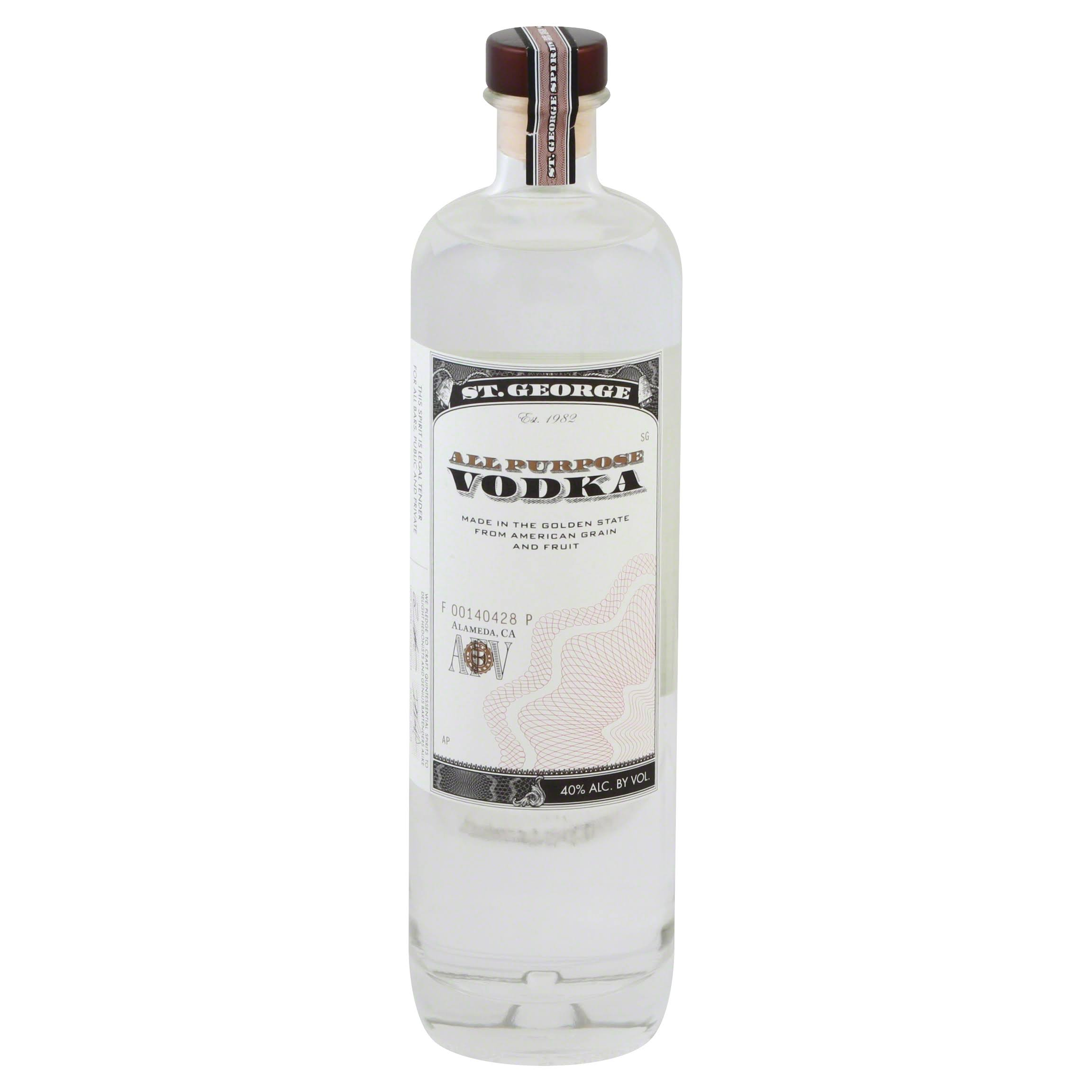 St. George Vodka - 750 ml bottle