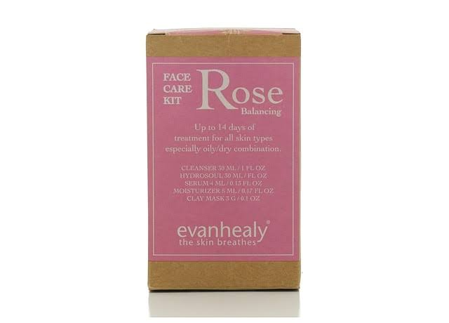 Evanhealy Rose Face Care Kit