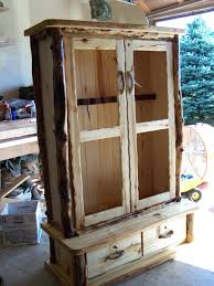 Sentinel Gun Cabinet Replacement Key by Custom Made Rustic Log Gun Cabinet Or A Armoire For Clothes I