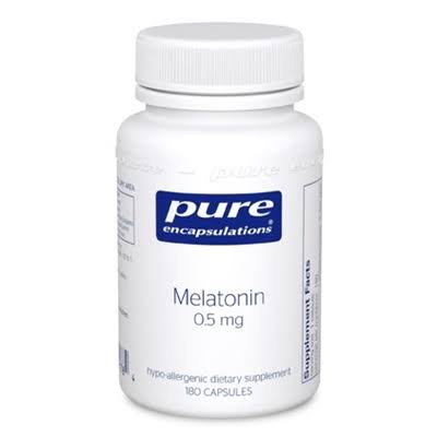 Pure Encapsulations Melatonin Hypoallergenic Supplement - 60 Capsules