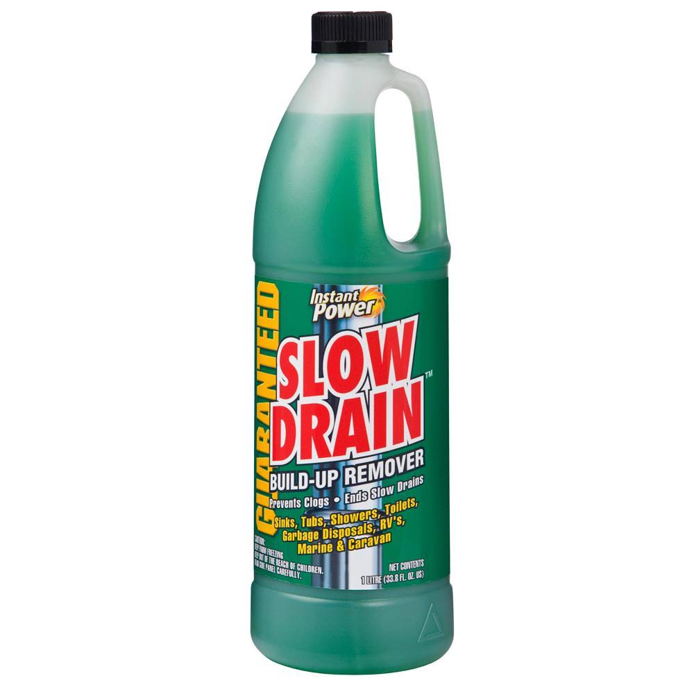 Instant Power Slow Drain Build Up Remover - 33.8oz
