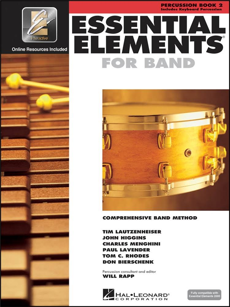 Hal Leonard Essential Elements 2000 Book #2 - Percussion