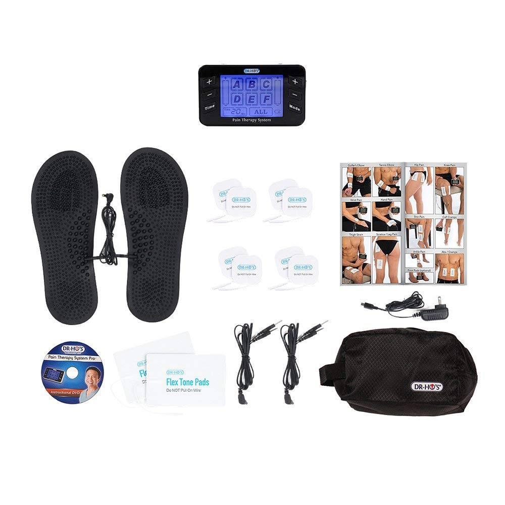 DR-HO'S Pain Therapy System Pro with Gel Pad Kit & Pain Therapy Back Relief Belt