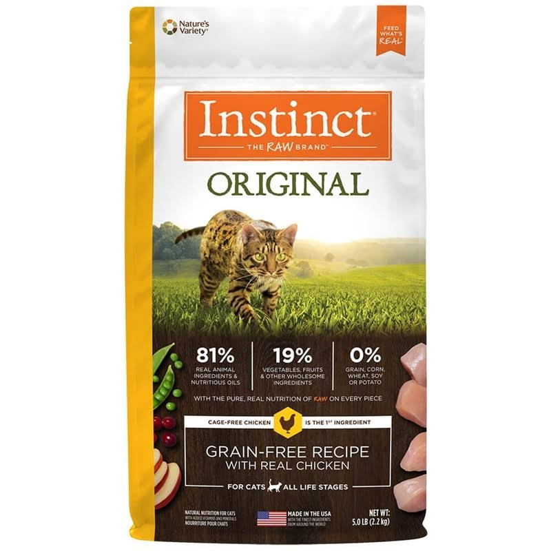 Instinct Original Grain Free Recipe Natural Dry Cat Food - with Real Chicken
