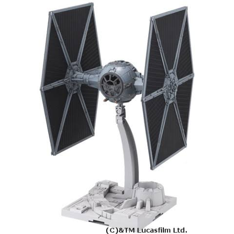 Star Wars Bandai Model Kit - Tie Fighter, 1/72
