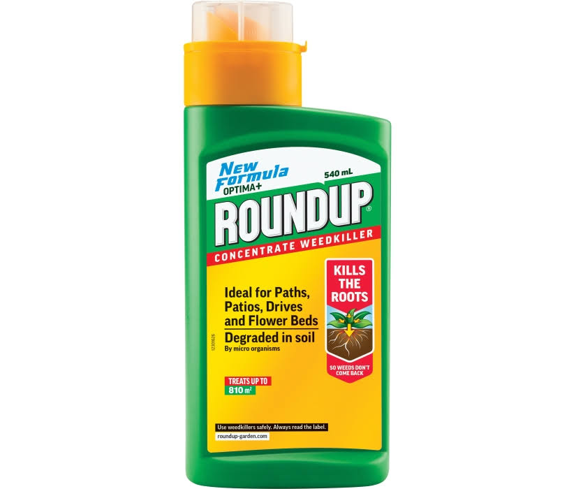Roundup Optima+ Concentrate Total Weedkiller - 540ml
