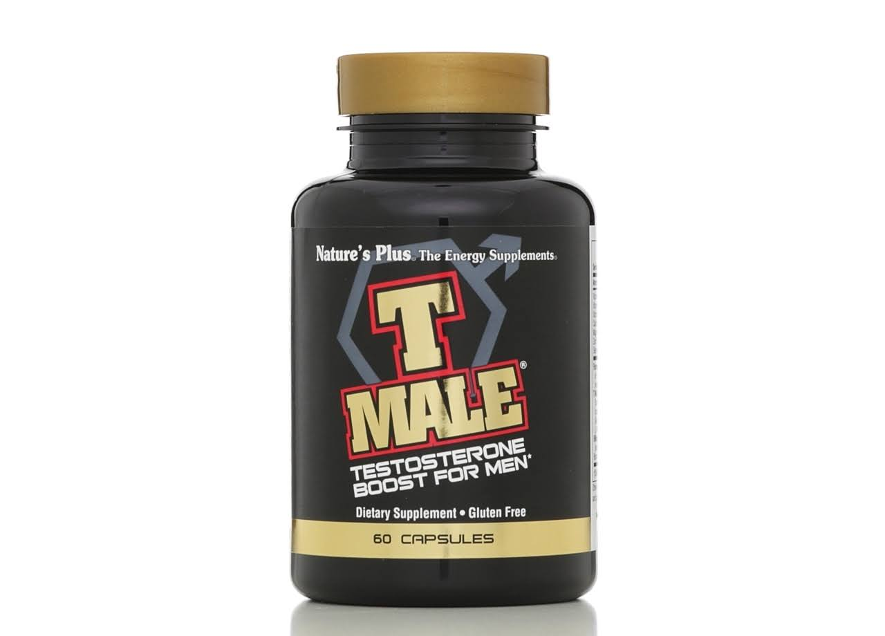 Nature's Plus T Male Testosterone Boost For Men - 60 Capsules