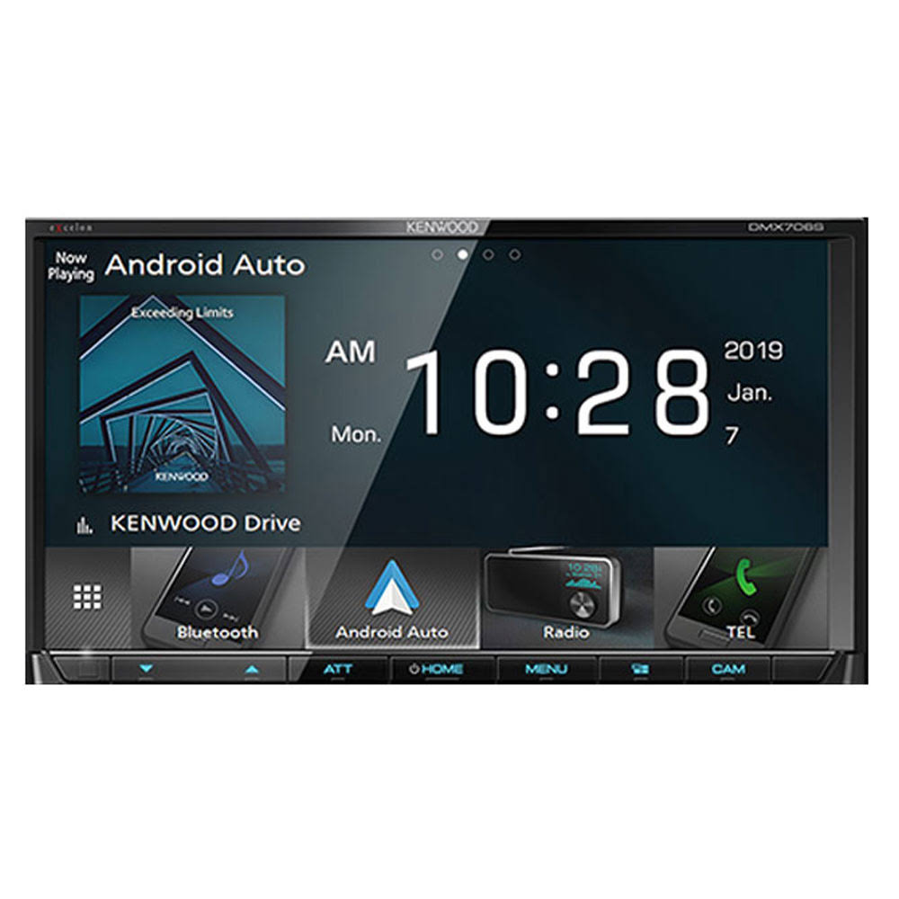 Kenwood Dmx706S Digital Media Receiver - With Wireless Apple Carplay