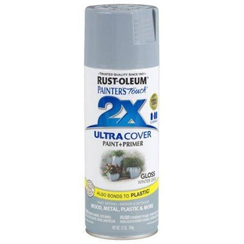 Rust-Oleum Painter's Touch Multi Purpose Spray Paint - Winter Gray
