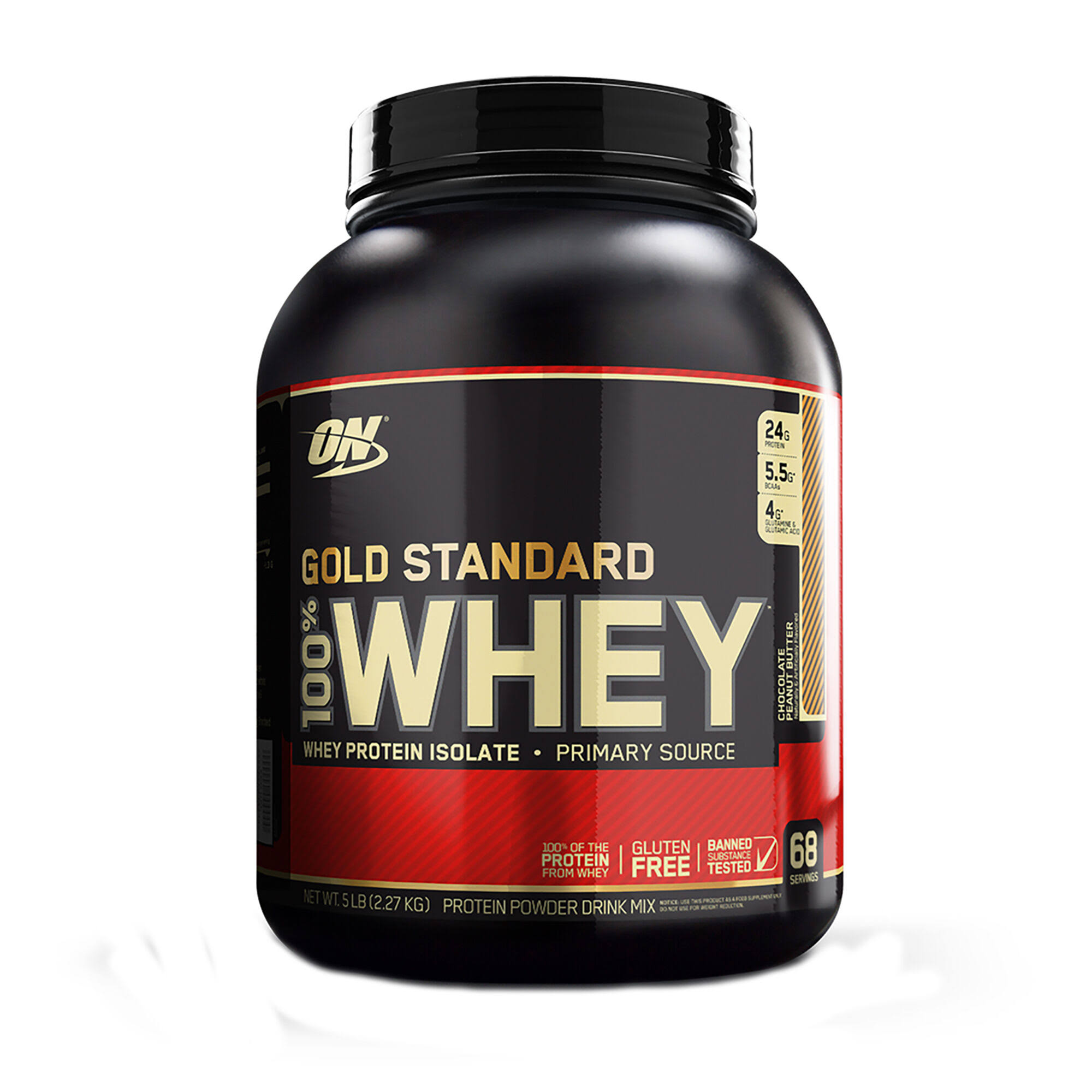 Optimum 100 Gold Standard Whey - Chocolate Peanut Butter, 2.3kg