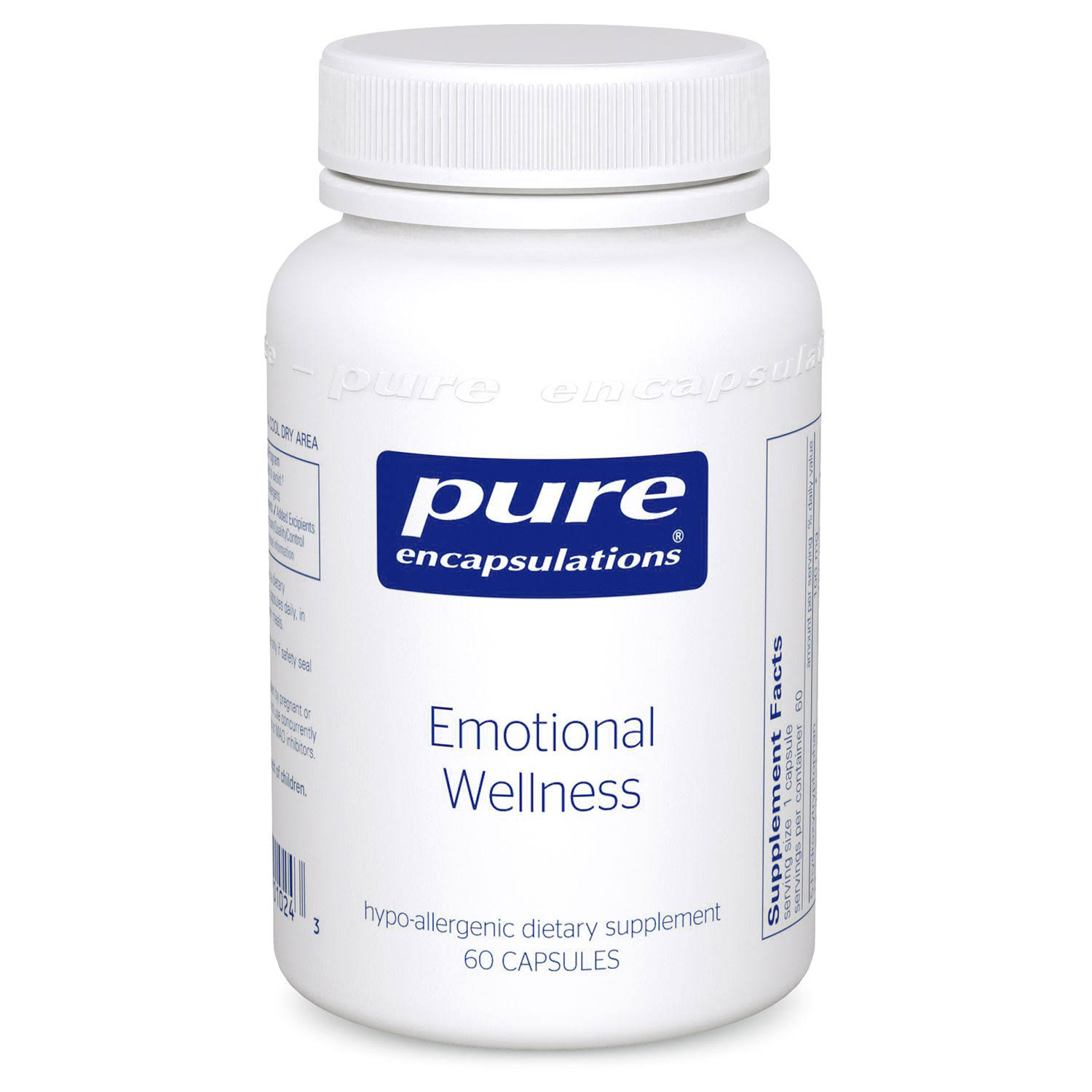Pure Encapsulations Emotional Wellness Dietary Supplement - 60ct