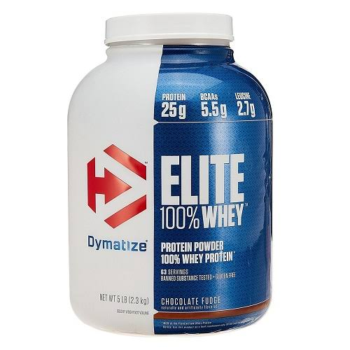 Dymatize Nutrition Elite Whey Protein Supplement - Rich Chocolate, 5lbs
