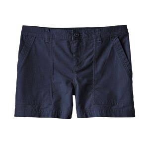 Patagonia Women's Stretch All-Wear Shorts 4in, 8 / Navy Blue
