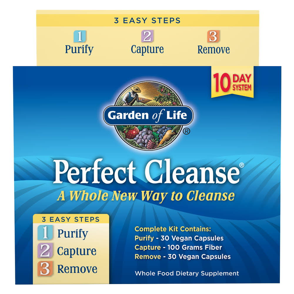 Garden of Life Perfect Cleanse 10 Day Kit - 3oct
