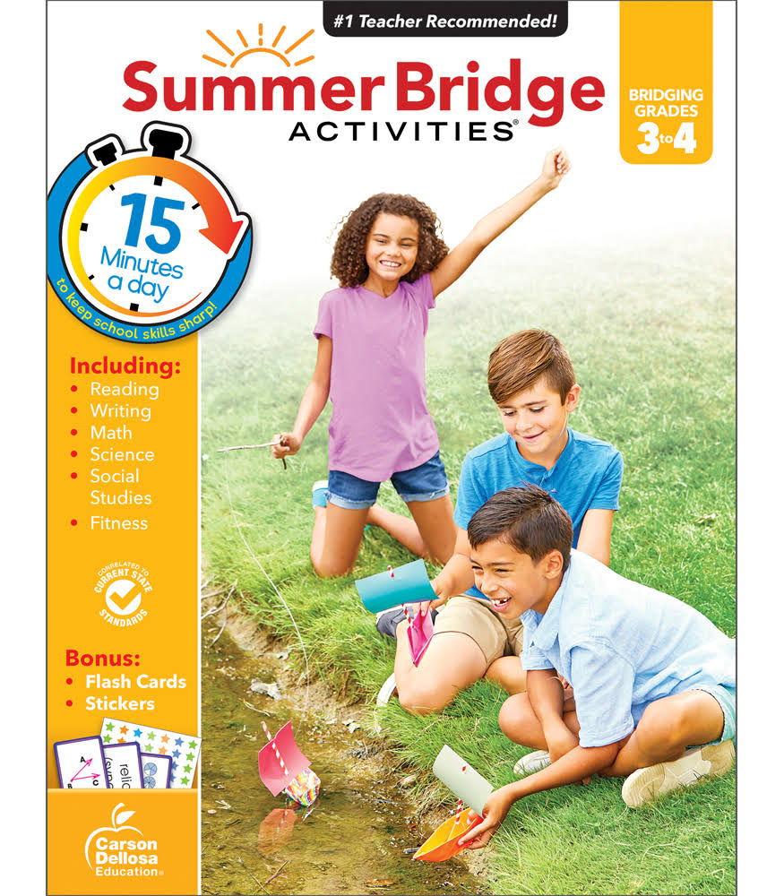 Summer Bridge Activities Grades 3-4 - Summer Bridge Activities