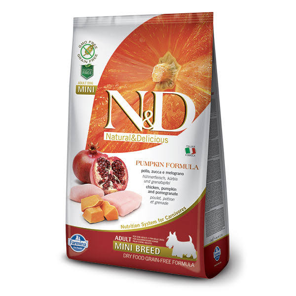 N&D Grain Free Dog Food - Pumpkin