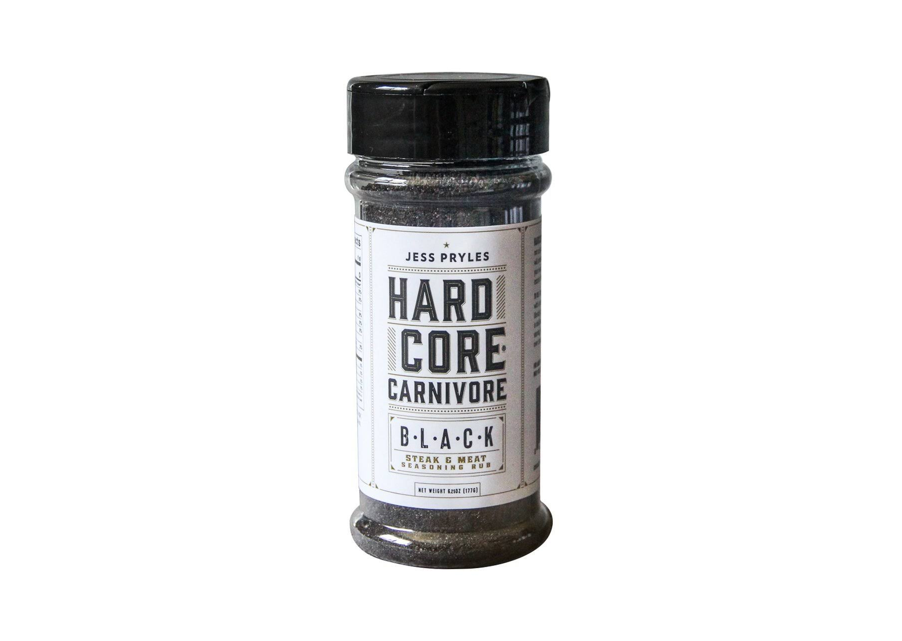 Hardcore Carnivore Black Steak Meat BBQ Seasoning