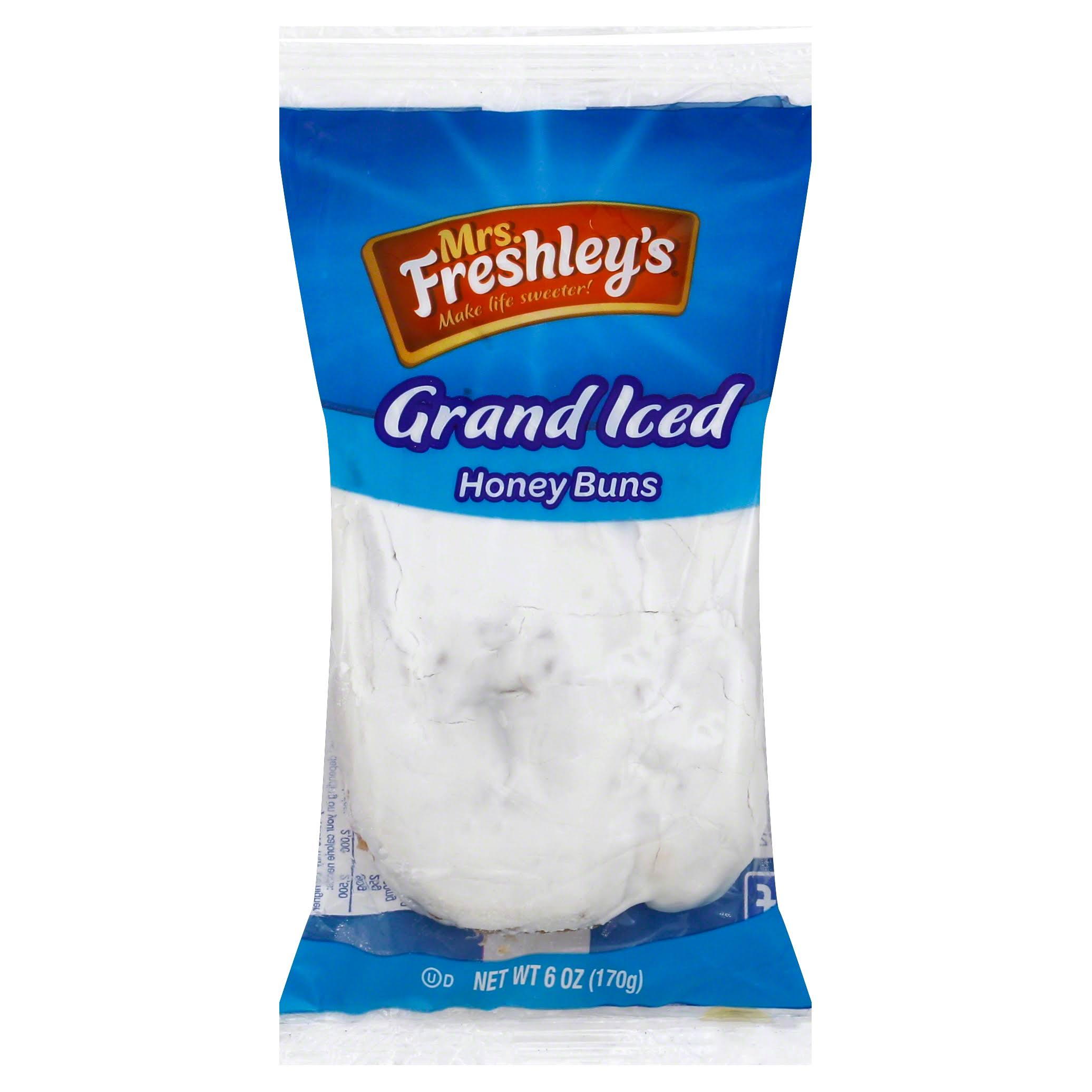 Mrs. Freshley's Grand Iced Honey Bun - 6oz