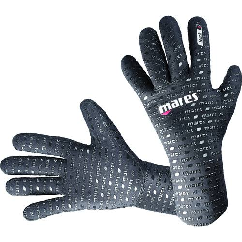 Mares Flexa Touch Five Finger Gloves - Black, 2mm, X-Small/Small