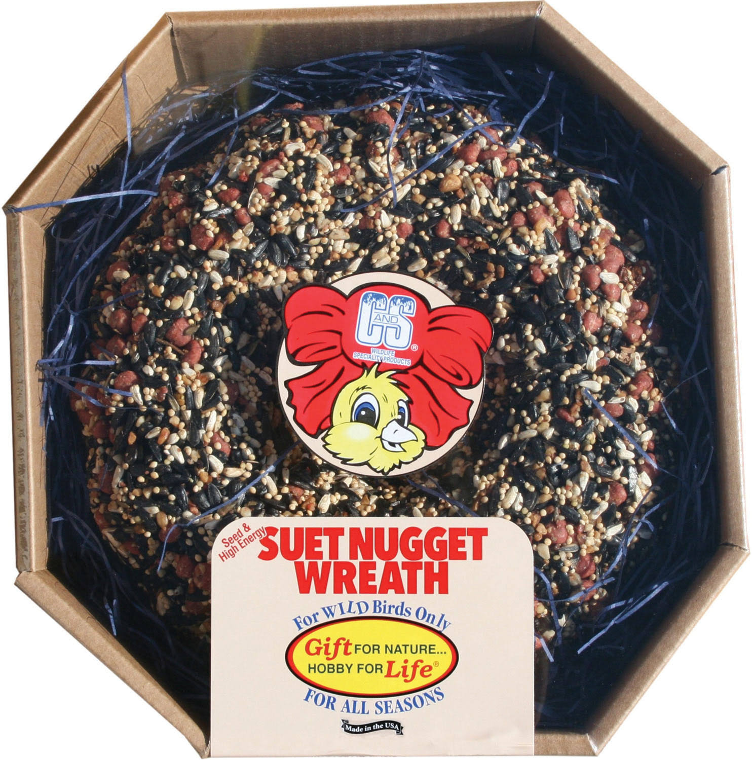 C and S Products Bird Seed Wreath - 2.6lbs