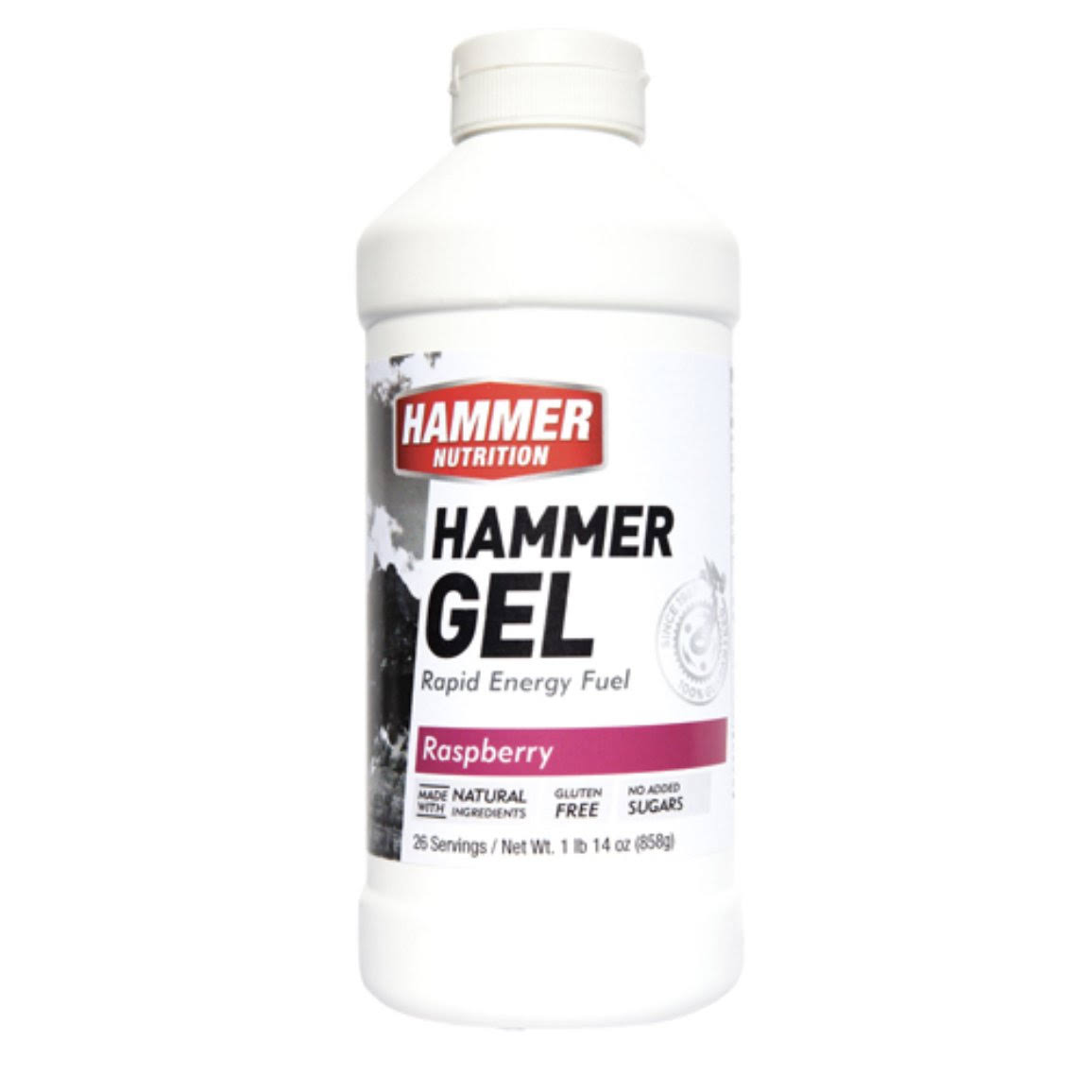 Hammer Nutrition Gel, Raspberry - 20 oz bottle