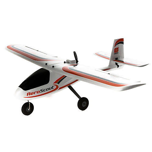 HobbyZone AeroScout S RTF Airplane for Beginner Pilots - 1.1m