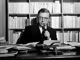 Fotografía de Jean Paul Sartre