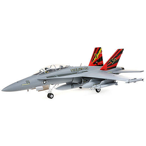 E-flite F-18 Hornet 80mm EDF BNF Basic with AS3X and Safe Select, EFL3950