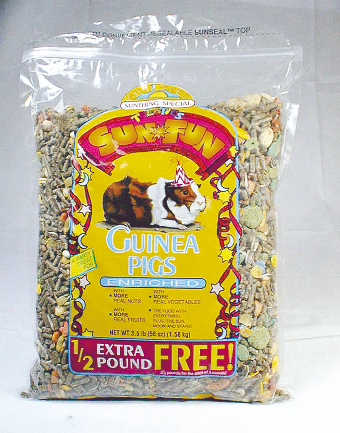 Sunseed Sun Fun for Guinea Pig (3.5 Pound)