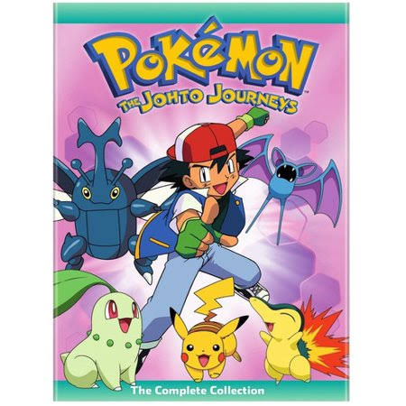 Pokemon the Johto Journeys: The Complete Collection DVD