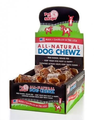 Pet 'n Shape All Natural Dog Chews - Trachea, Small