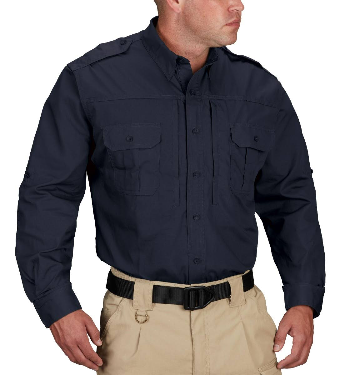 Propper Men's Tactical Shirt - Long Sleeve - LAPD Navy
