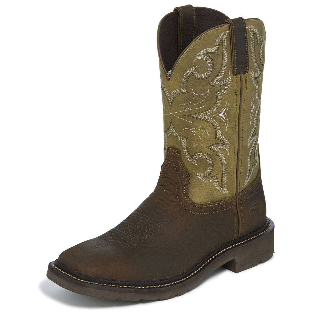 Justin Men's Amarillo Boot, Cactus