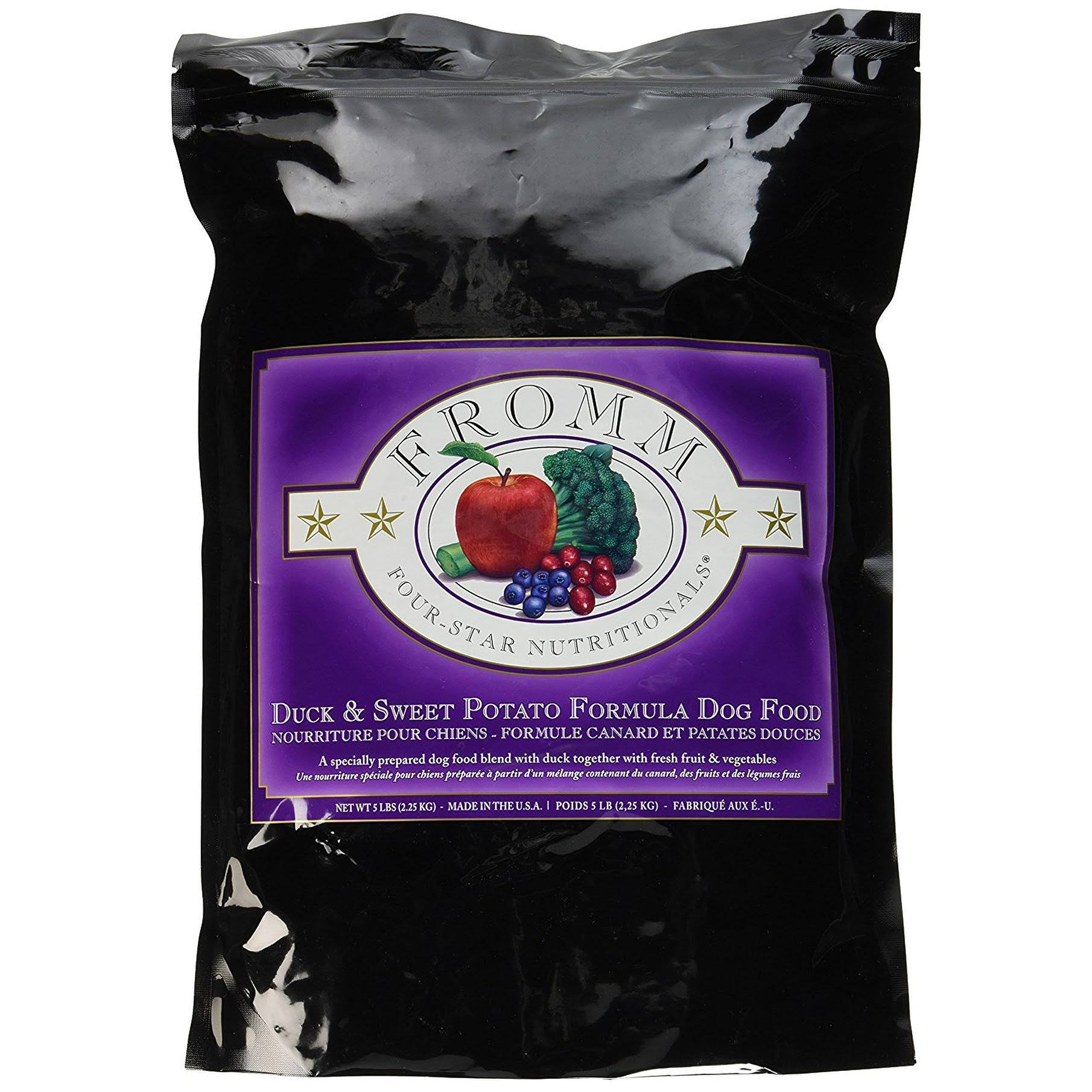 Fromm Dog Food - Duck & Sweet Potato