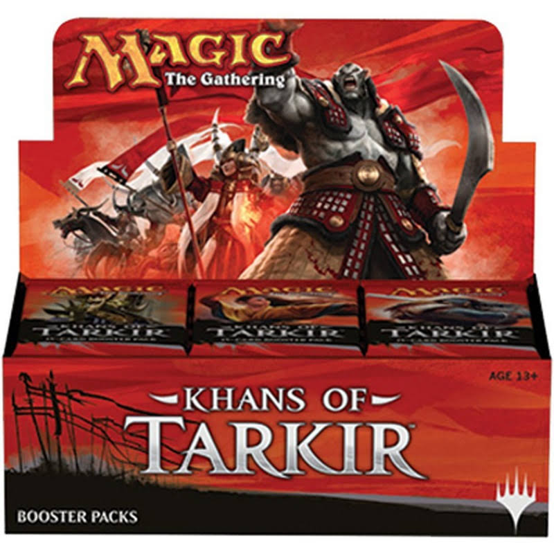 Magic The Gathering: Khans of Tarkir Card Booster Pack