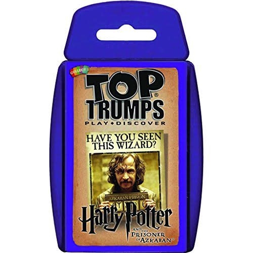 Top Trumps Harry Potter & the Prisoner of Azkaban Card Game